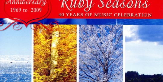 CD Recordings - Ruby Seasons