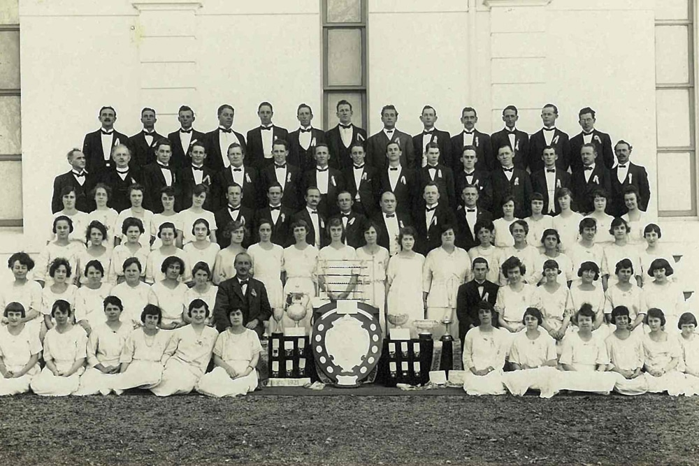 Photo Blackstone-Ipswich Cambrian Choir 1923