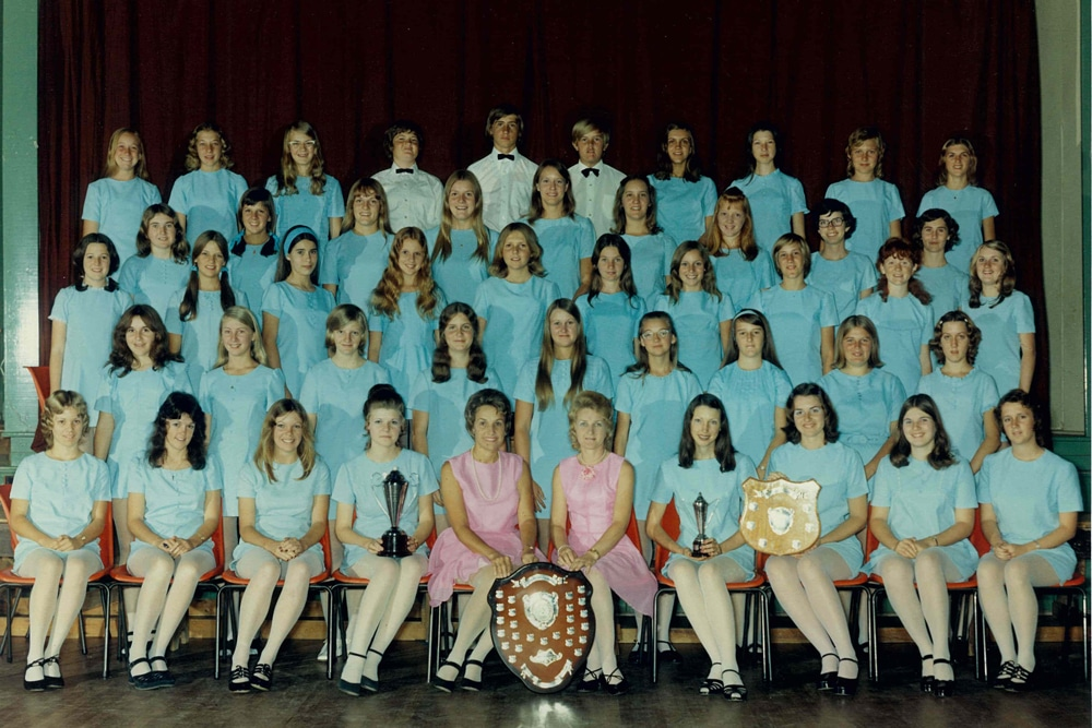 Photo Cambrian Youth Choir 1970