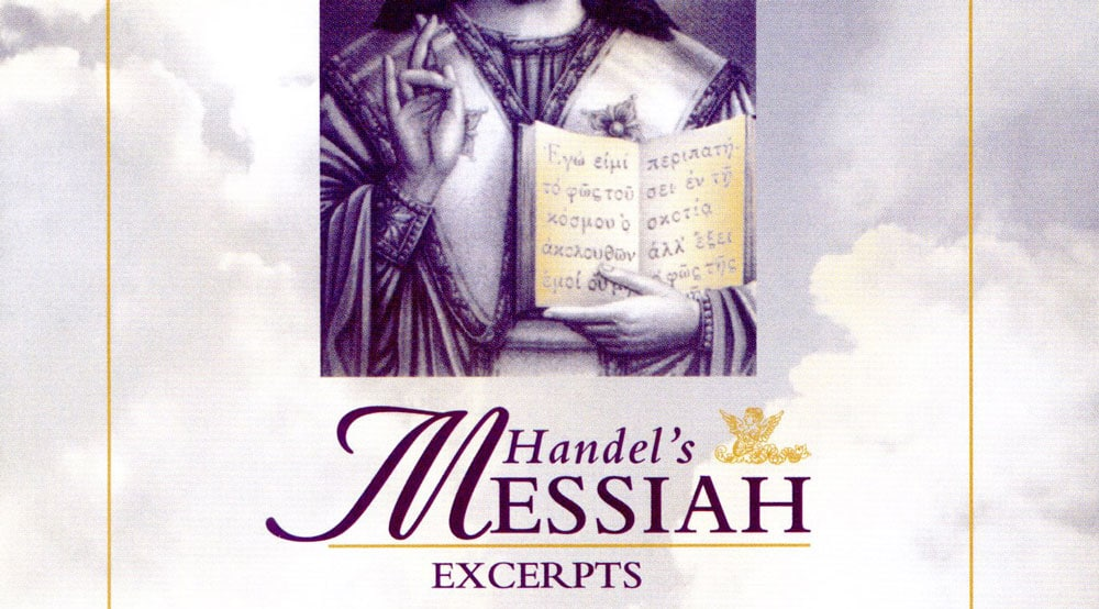 CD recordings - Handel's Messiah Excerpts
