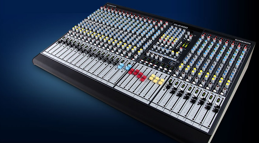 Venue Hire - Cambrian Centre Sound Mixer Desk