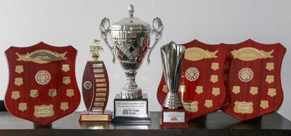 Eisteddfod Trophies 2016
