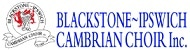 Blackstone-Ipswich Cambrian Choir Logo