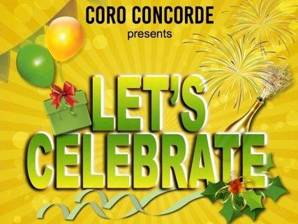 Lets Celebrate Event Poster