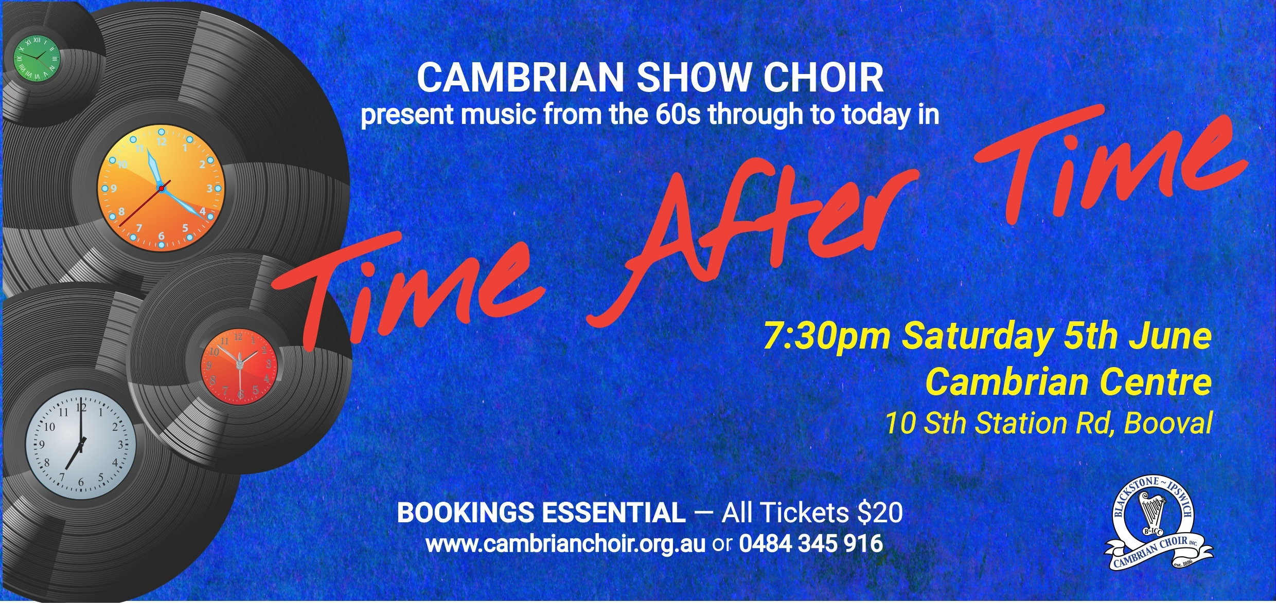 Time After Time Banner