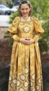 Lady - medieval dress