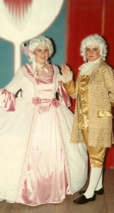 Male & female period costumes